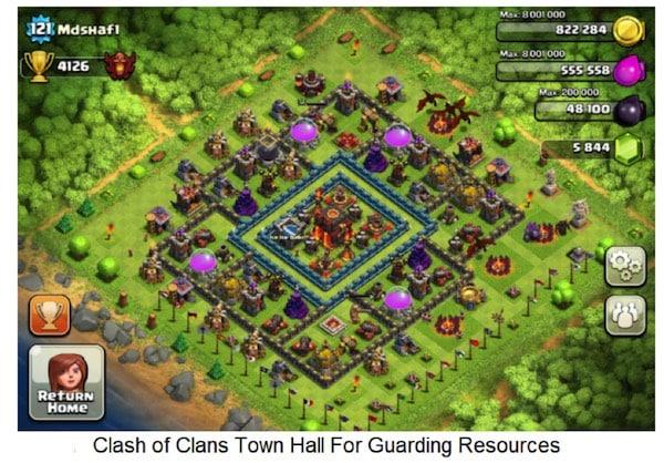 clash of clans tricks
