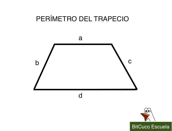 perimetro del trapecio