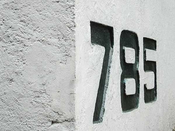 numero exterior