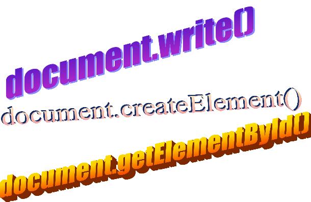 Crear elementos HTML con Javascript