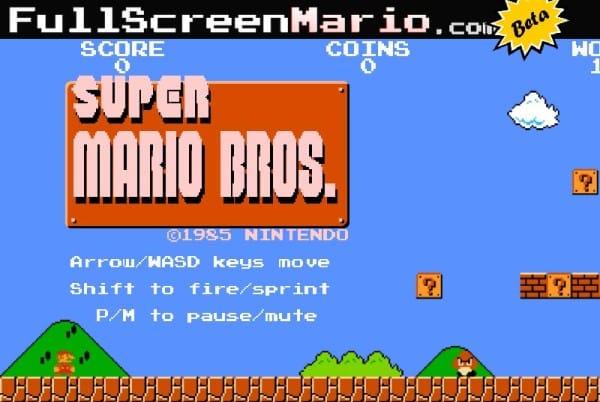 Full Screen Mario y Pokémon Essentials: Juegos Baneados