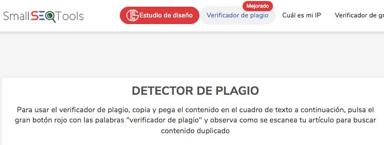 detector de plagio