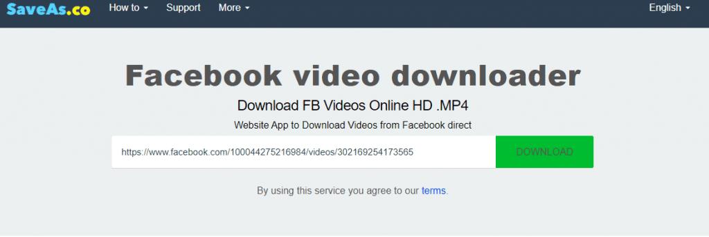 como descargar videos de facebook
