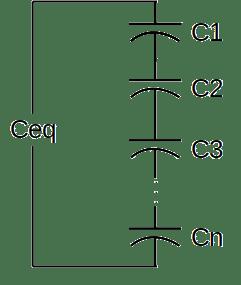 capacitores serie